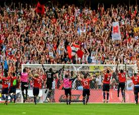 Bielsa back with a bang at Lille. AFP