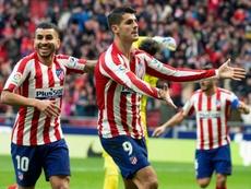 Espagne: Morata et l'Atlético domptent l'Espanyol et passent troisièmes. AFP