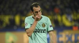 Godín could move to Turkey. AFP