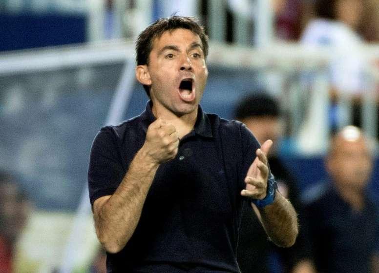 Felipe Moreno quiere seguir contando con Garitano. AFP