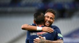Neymar es determinante en el PSG. AFP