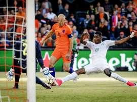 Les Pays-Bas battent la Côte d'Ivoire en amical. AFP