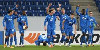 El Hoffenheim firmó su segunda victoria seguida. AFP
