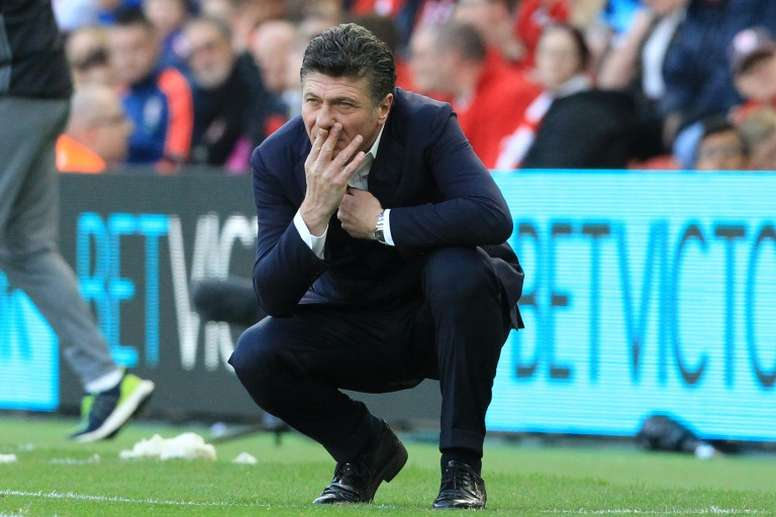 Mazzarri expects City to be fired up after their loss to Leicester. AFP
