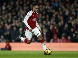 El Arsenal fue un ciclón. AFP