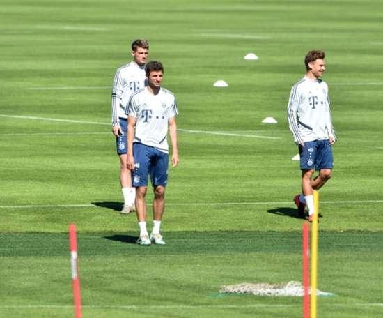 Thiago, Gnabry e Hummels in dubbio. AFP