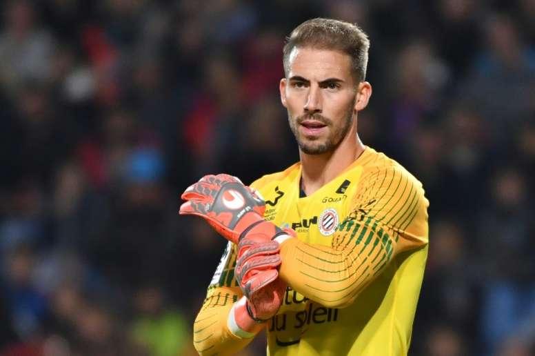 Benjamin Lecomte has caught Barcelona's attention. AFP