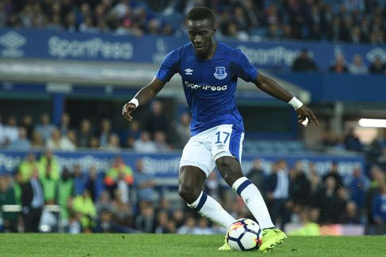 PSG teria oferecido 30 milhões para contar com o jogador do Everton. AFP