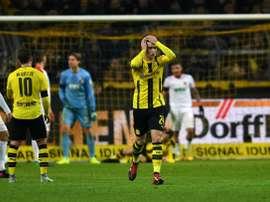 Mikel Merino finalmente se queda en el Borussia Dortmund. AFP