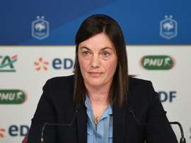 La sélectionneure de l'équipe de France féminine. AFP