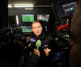 Le directeur technique de l'arbitrage Pascal Garibian. AFP