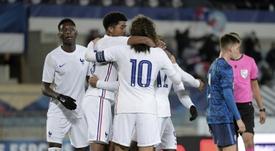 Les Bleuets se rapprochent de l'Euro 2021 en battant la Slovaquie. AFP