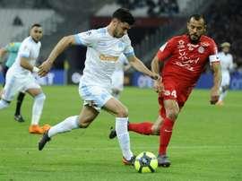 Marseille affronte Montpellier. AFP