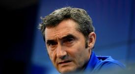 Valverde reconoce el mal juego. AFP