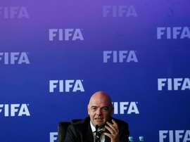 L'Irak pourra à nouveau accueillir des matches officiels. AFP
