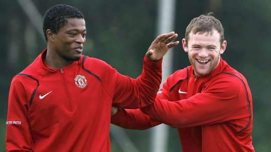 Evra could be given a role at the club. AFP