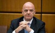 Infantino not imagining World Cup without fans. AFP