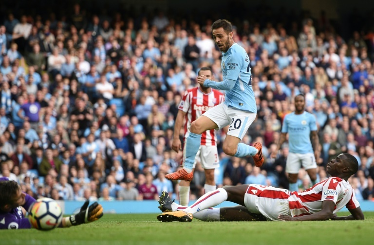 Grâce à David Silva, Manchester City s'impose à Stoke — Premier League