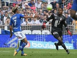 Primera derrota del Lille de Bielsa. AFP