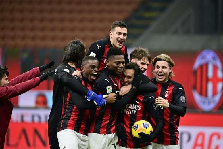 Coupe d'Italie: l'AC Milan en quarts aux tirs au but