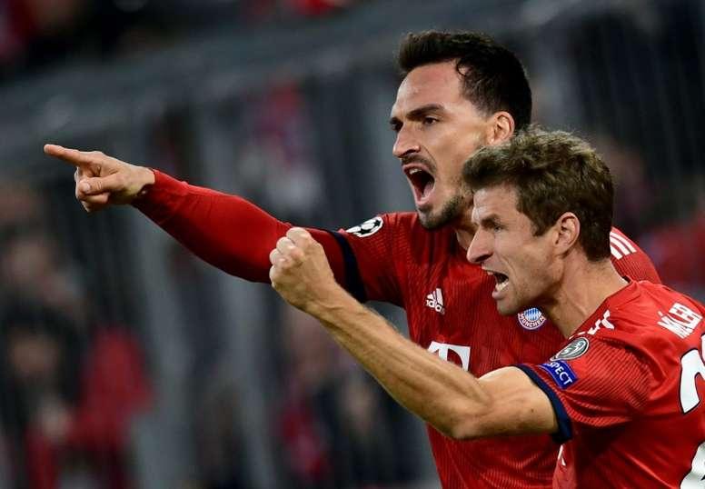 Müller y Hummels, en la prelista para los Juegos Olímpicos. AFP