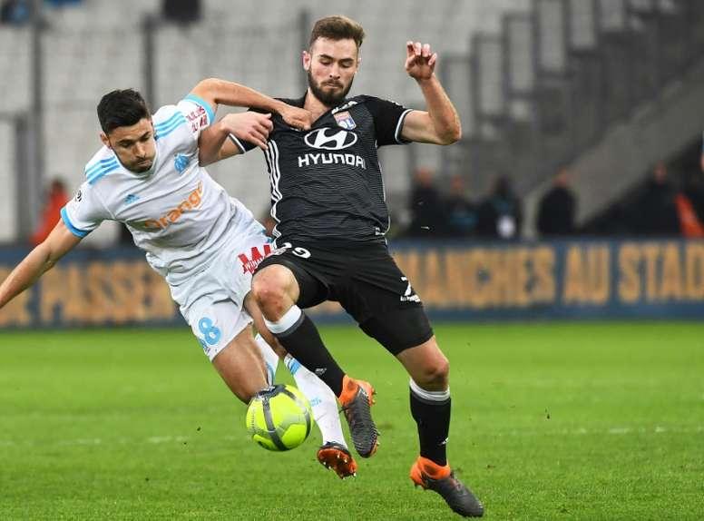 Lucas Tousart plaît à l'Inter. AFP