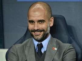 Guardiola has 'pinched' Eric Garcia. AFP