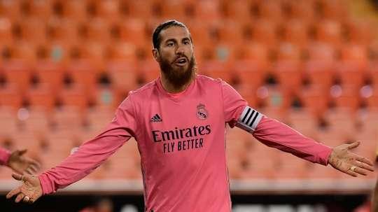Sergio Ramos não visitará o Sevilla. AFP