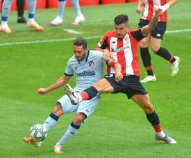 Points shared as Athletic and Atletico show no signs of football's halt. AFP