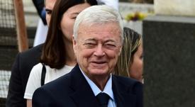 Teixeira suspendu à vie. AFP