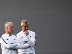 Les pressions des clubs, c'est de bonne guerre, selon le médecin des Bleus. AFP