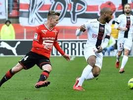 Les compos probables du match de Ligue 1 entre Guingamp et Rennes. AFP