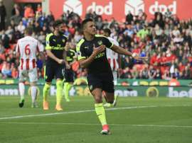 Alexis Sánchez jogará contra o Sunderland. AFP
