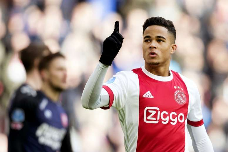 Pin Kluivert will wear number 34 as a tribute to Nouri. AFP 1f19075cc