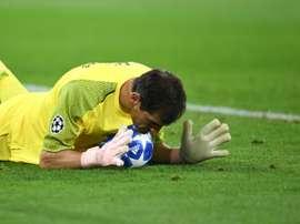 Iker Casillas lors du déplacement à Schalke. AFP