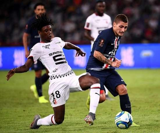 Holveck descartou ida de Camavinga ao Real. AFP
