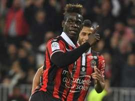 Italiano bisou e o Nice goleou o Monaco. AFP