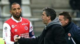 Rennes tenu en échec par Reims. AFP
