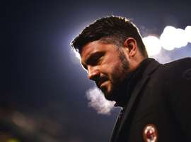 Gattuso's side were not able to overcome Arsenal. AFP