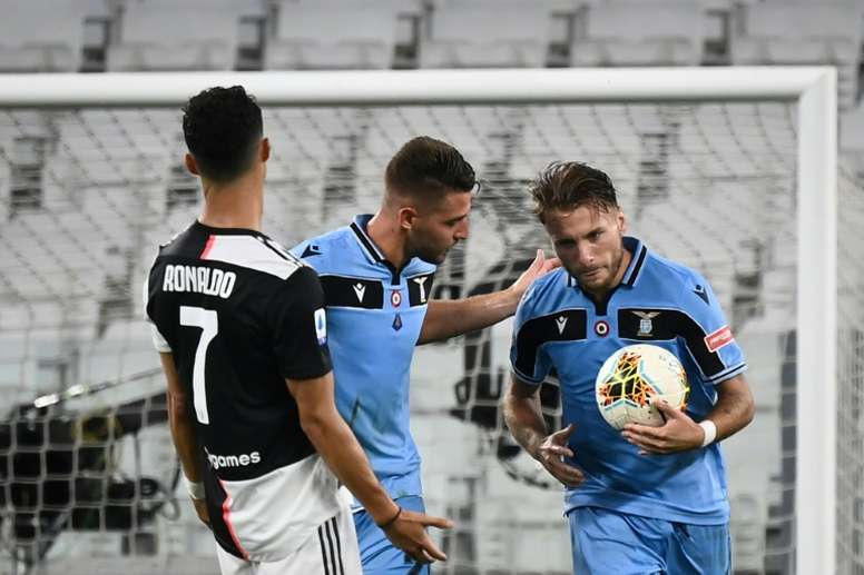 Immobile wins the Golden Boot. AFP