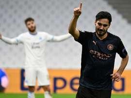 Marseille prend une leçon de Manchester City. afp
