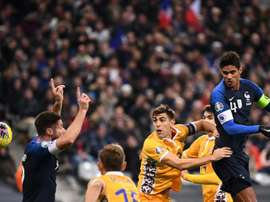 Euro-2020: la France, déjà qualifiée, peine mais bat la Moldavie (2-1). AFP