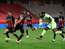 Les compos officielles du match de Ligue 1 entre Nice et Bordeaux. afp