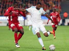El Olympique jugará la vuelta con una pírrica ventaja. AFP/Archivo