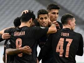 El City ganó por la mínima en el Georgios Karaiskakis. AFP/Archivo