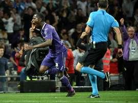 Gradel est heureux à Toulouse. AFP