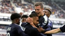 Les compos probables du match de Ligue 1 entre Bordeaux et Nîmes. AFP