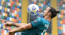 Mécontent, Zlatan Ibrahimovic attaque EA Sport. AFP