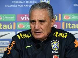 O novo contrato de Tite será válido até a Copa do Mundo do Catar. AFP