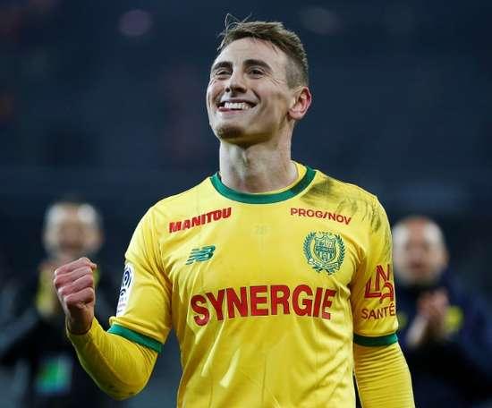 Porto want Nantes' Valentin Rongier. AFP